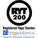 Carrie is a lisenced yoga teacher registered with the Yoga Alliance